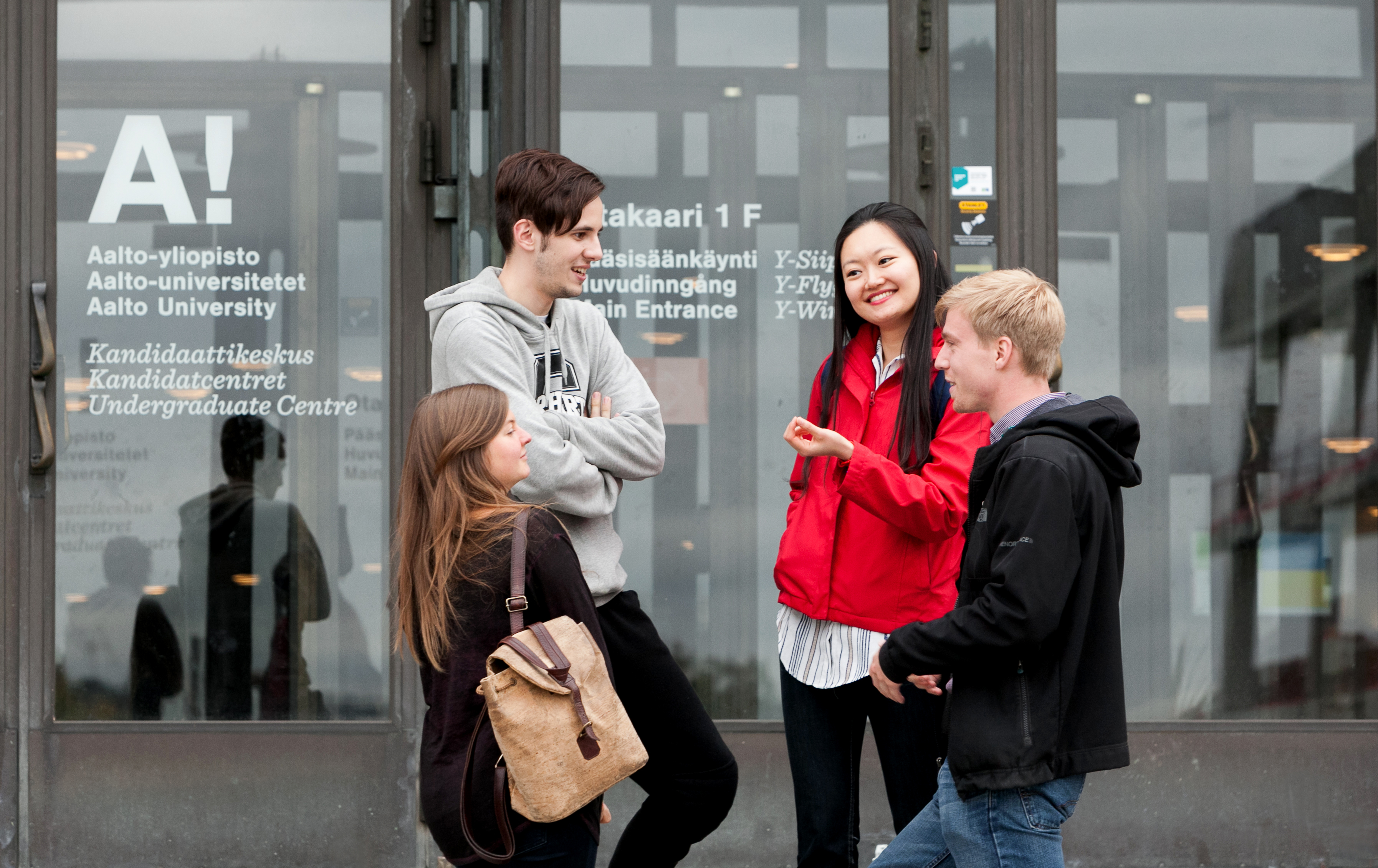 Students at Aalto University