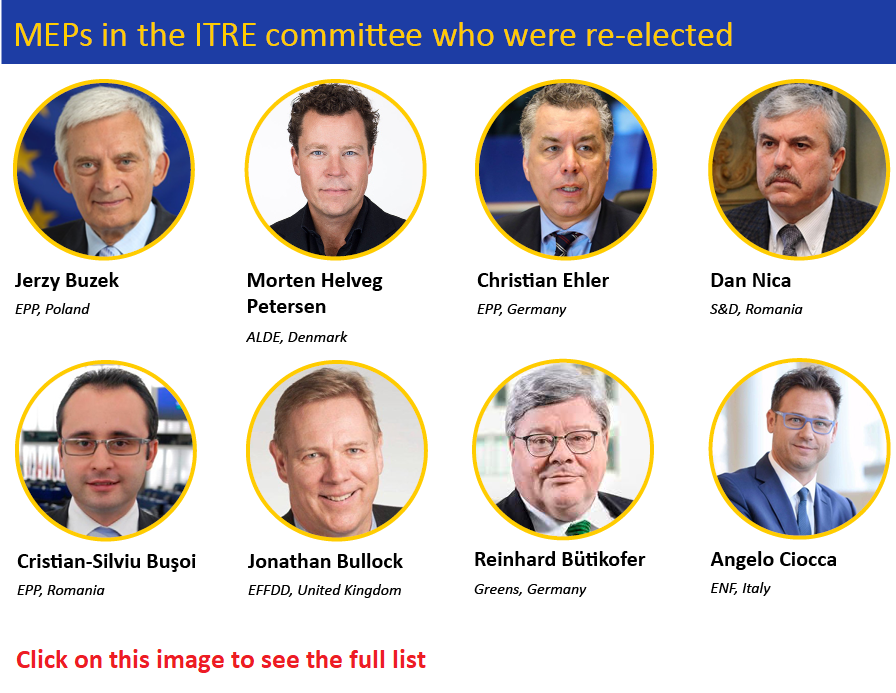ITRE elections