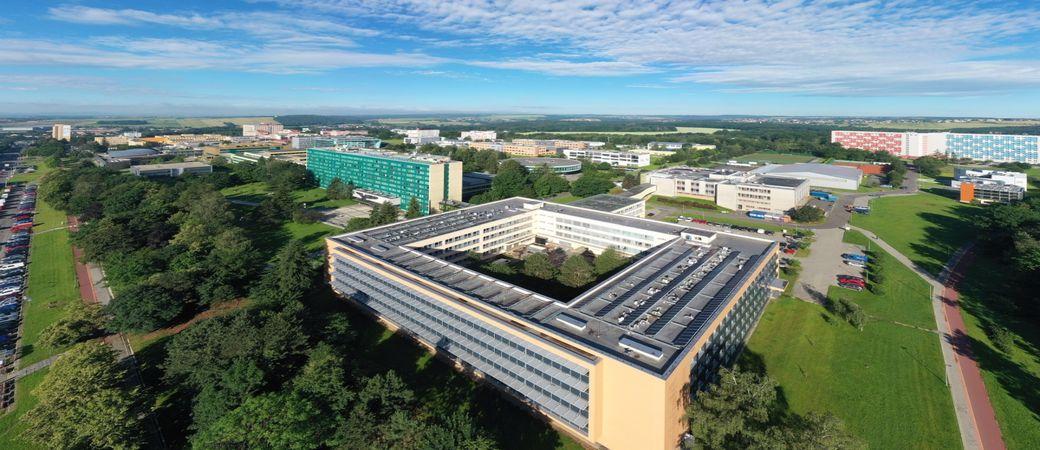 VSB-TUO campus in Ostrava.