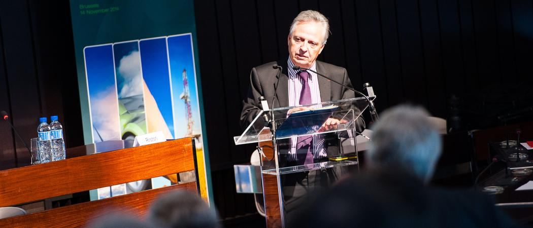 Dominique Ristori, Director General for Energy at the European Commission, speaking at the Energy Challenge event in Brussels