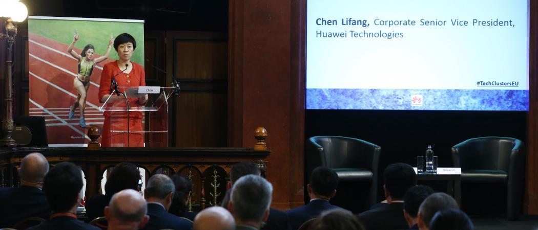 CHEN LIFANG CORPORATE SENIOR VICE PRESIDENT, HUAWEI TECHNOLOGIES