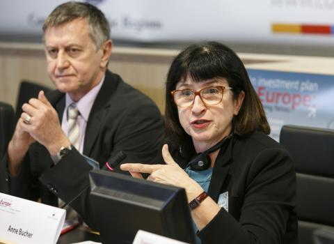 Anne Bucher. Photo: European Committee of the Regions.